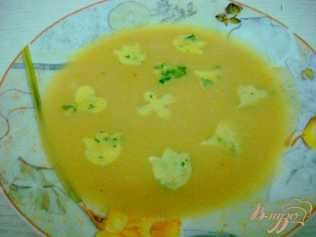 Рецепт Суп пюре из кабачков с яичным суфле