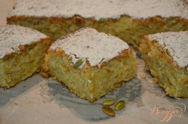 Фото приготовление рецепта: Бананово-медовый кекс шаг №5