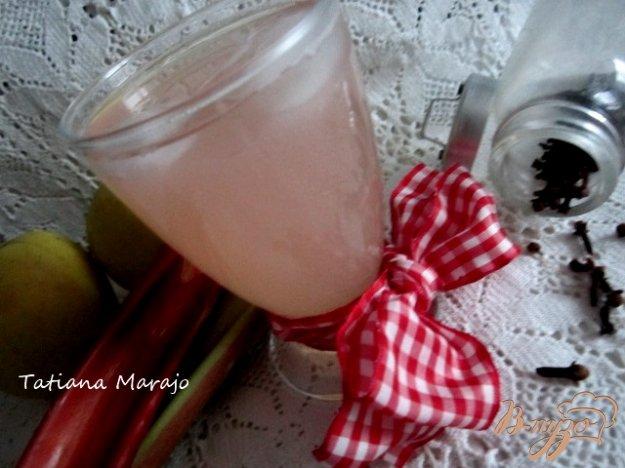 Рецепт Компот из ревеня, яблок и гвоздики
