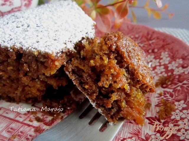 Фото приготовление рецепта: Английский морковный кекс шаг №10