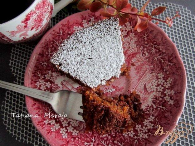 Рецепт Английский морковный кекс