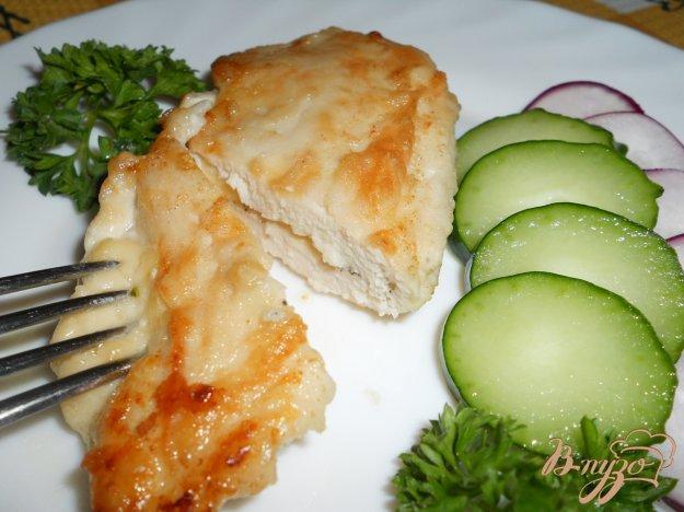 Рецепт Куриная отбивная с сыром