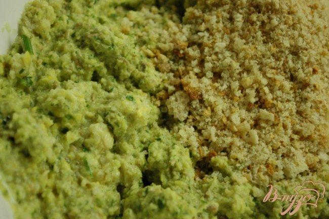 Фото приготовление рецепта: Котлетки из зеленой чечевицы шаг №3