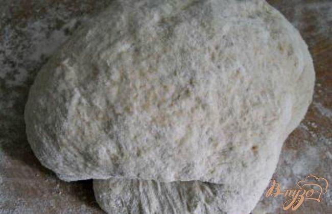 Фото приготовление рецепта: Хлебная тарелка для супа из цельнозерновой муки шаг №2