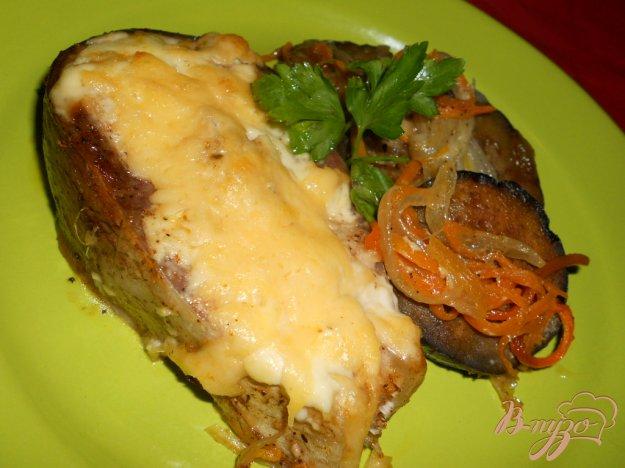 Рецепт Толстолобик запеченный с овощами и сыром