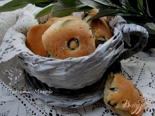 Рецепт Закусочные булочки с прованскими травами и маслинами
