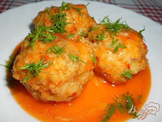 Рецепт Рыбные тефтели в томате
