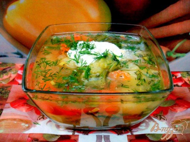 фото рецепта: Суп с горошком и овощами