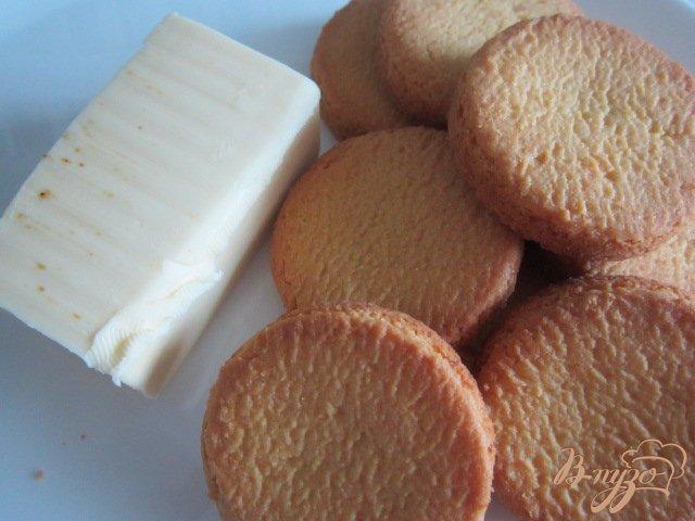 Фото приготовление рецепта: Йогуртово-ананасовый тортик шаг №1