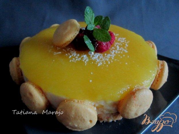 фото рецепта: Йогуртово-ананасовый тортик