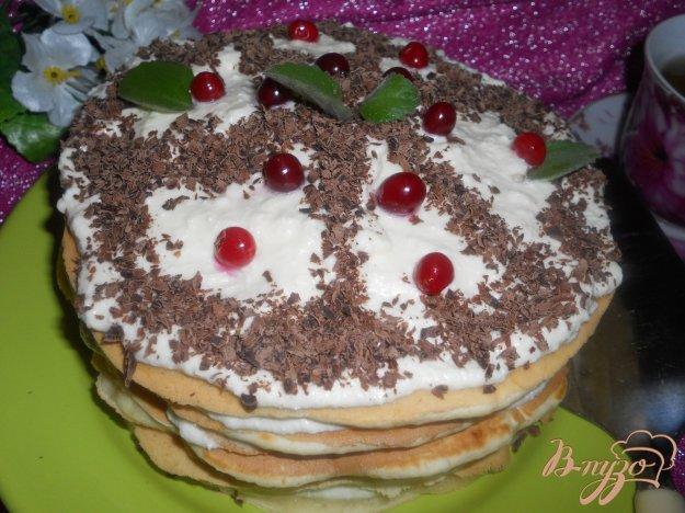 Рецепт Тортик к чаю на сковороде с цельнозерновой мукой