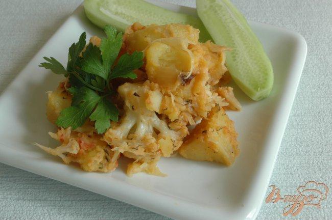 Фото приготовление рецепта: Овощное рагу с насыщенным вкусом шаг №6