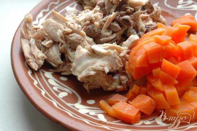 Фото приготовление рецепта: Суп с «комочками» шаг №5