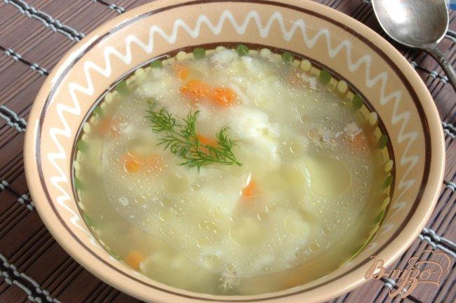 Фото приготовление рецепта: Суп с «комочками» шаг №6