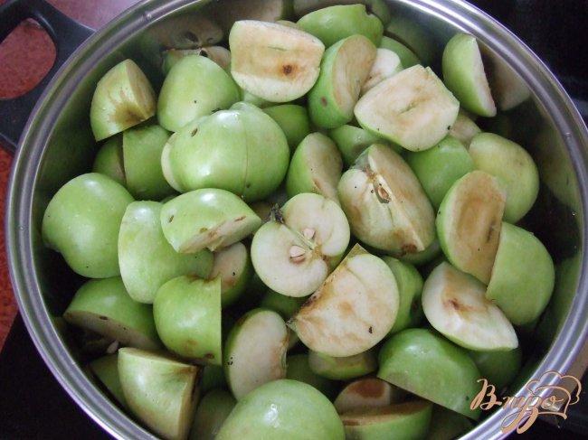 Фото приготовление рецепта: Яблочный «мёд» шаг №1