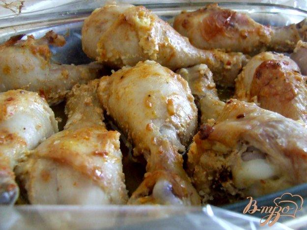 Рецепт Куриные голени, запеченные в рукаве