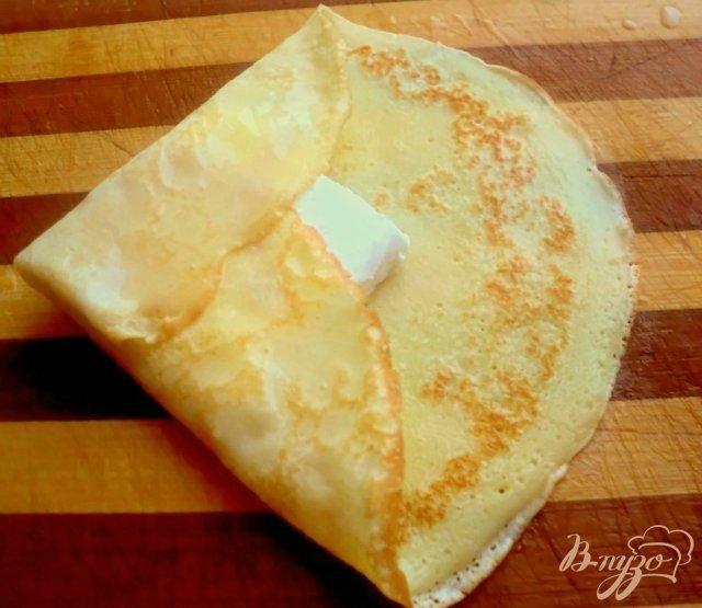 Фото приготовление рецепта: Десерт « Лед и пламя» шаг №4