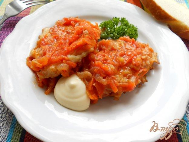 Рецепт Котлеты капустные, тушеные в томате