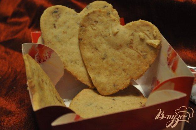 Рецепт Песочное печенье с розмарином и грецкими орехами