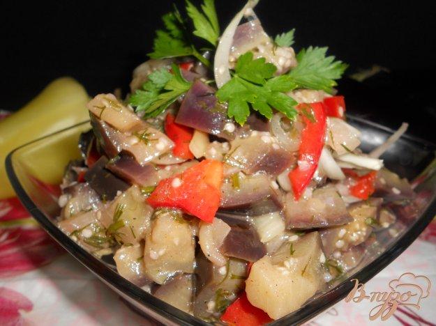 Рецепт Салат из баклажанов и перца