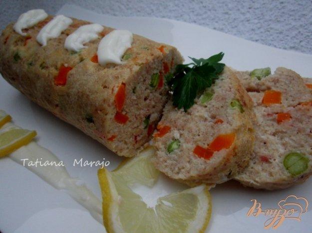 Рецепт Рыбный рулет с овощами