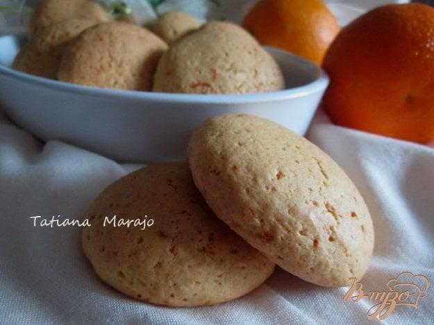 фото рецепта: Апельсиновые коржики
