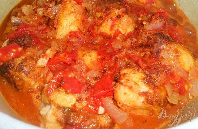 Фото приготовление рецепта: Картофель фаршированный мясом - Мафрум шаг №5