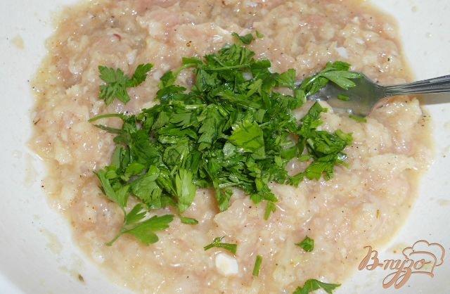 Фото приготовление рецепта: Картофель фаршированный мясом - Мафрум шаг №2