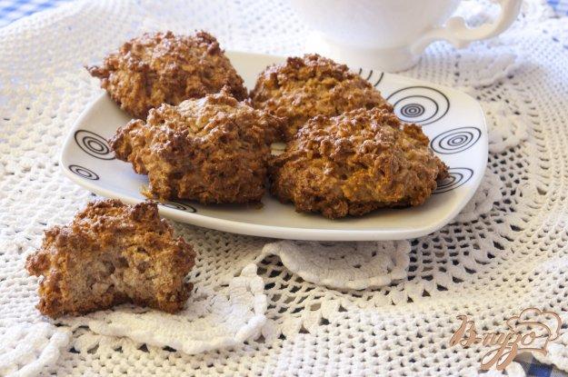 Рецепт Кокосовое печенье с цельнозерновой мукой