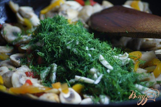 Фото приготовление рецепта: Закусочные шампиньоны шаг №4