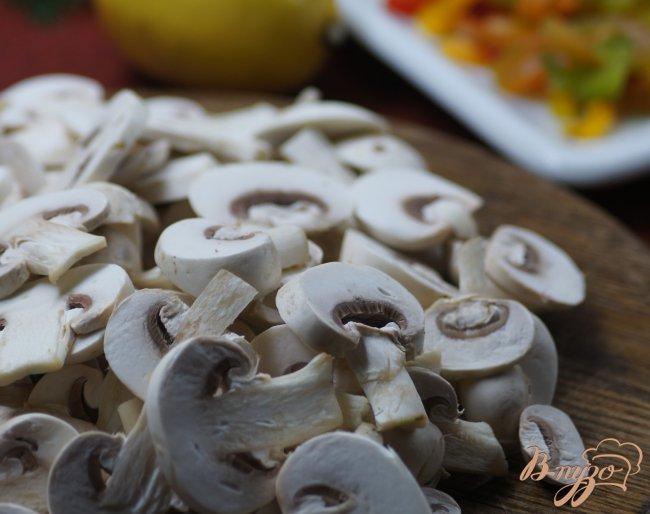 Фото приготовление рецепта: Закусочные шампиньоны шаг №1