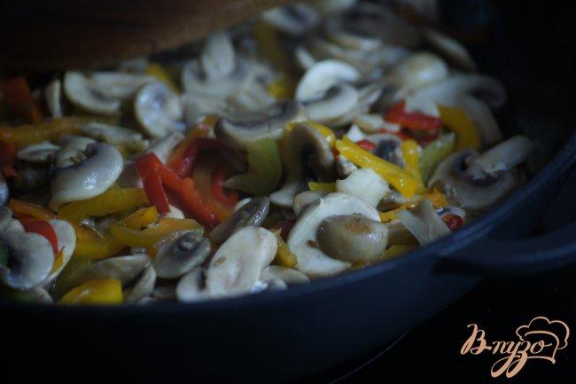 Фото приготовление рецепта: Закусочные шампиньоны шаг №3