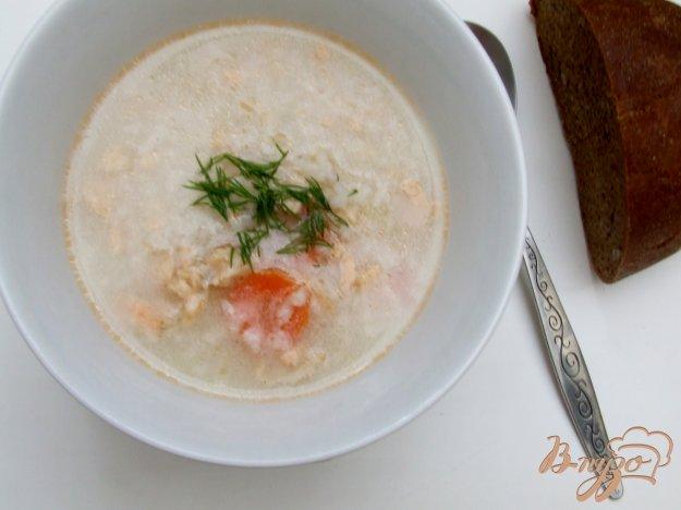 фото рецепта: Суп из хребта семги