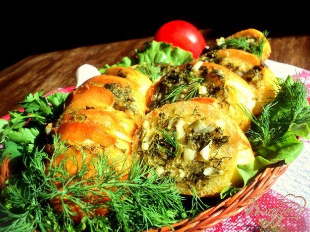 Рецепт Багет запеченный в фольге