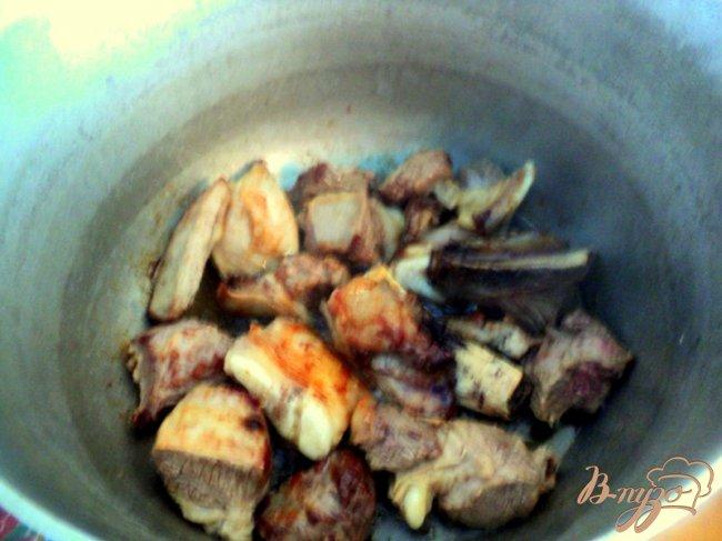 Фото приготовление рецепта: Шурпа на даче шаг №2