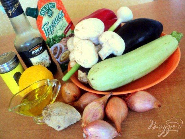 Фото приготовление рецепта: Овощные шашлыки шаг №1