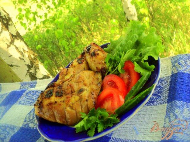 Рецепт Куриные крылышки и бедрышки – гриль