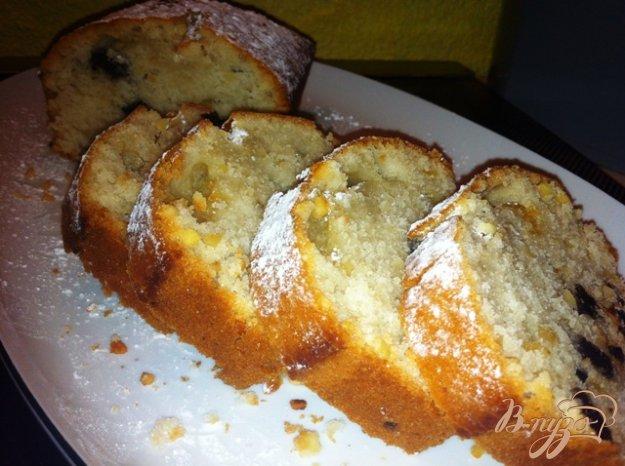 Рецепт Кекс на яблочном отваре с корицей (постный)