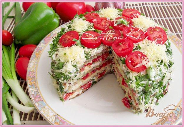 Рецепт Баклажанный торт