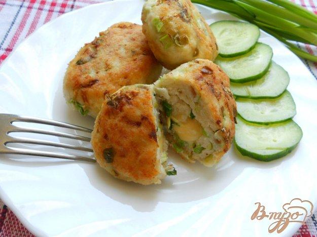 Рецепт Котлеты куриные с капустой и сыром