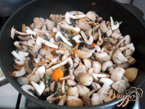 Грибной суп пюре на сковороде