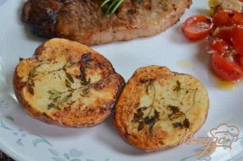 Картофель с тимьяном