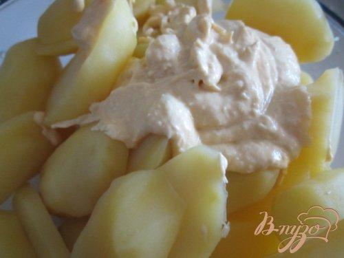 Пикантные картофельные дольки