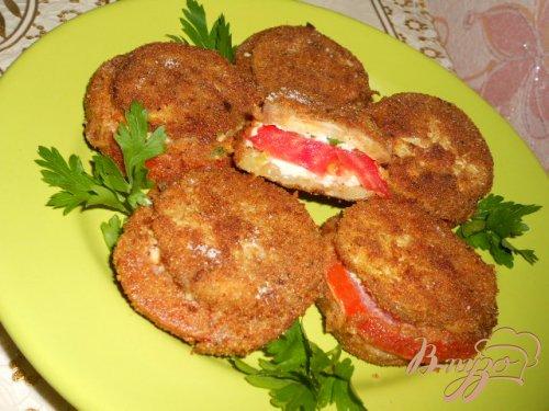 Сэндвичи из овощей с брынзой