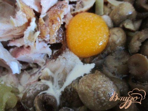 Паровые тефтели с грибным фаршем