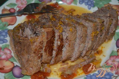 Пикантное тушеное мясо