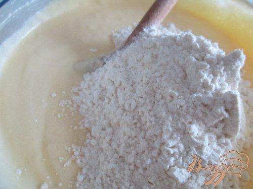 Творожные кексы с черникой