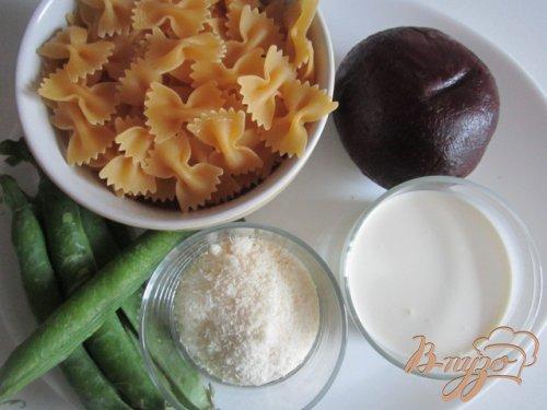 Паста со свекольно-сливочным соусом