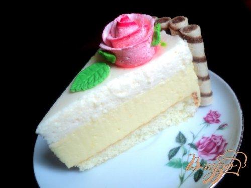 Легкий торт «Нежность»