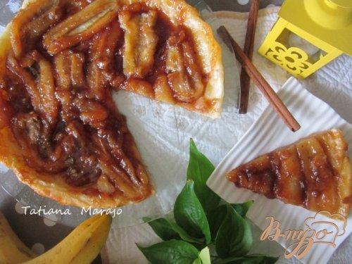 Банановый тарт Татэн (перевернутый пирог)